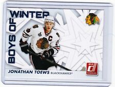 10-11 2010-11 DONRUSS JONATHAN TOEWS BOYS OF WINTER 38 CHICAGO BLACKHAWKS
