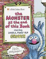 The Monster at the End of the Book: Sesame Street by Jon Stone (Hardback, 1987)