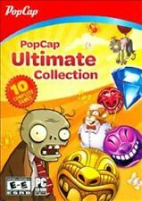 POPCAP ULTIMATE COLLECTION INCLUDES PLANTS vs. ZOMBIES + 9 MORE BRAND NEW