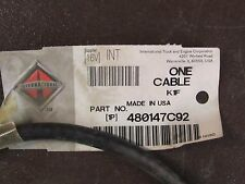 INTERNATIONAL CABLE 480147C92
