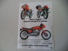 advertising Pubblicità 1982 MOTO GUZZI 850 LE MANS III