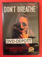 Don't Breathe DVD AUTHENTIC Brand New Free Shipping BEWARE OF CHEAP FAKES SOLD
