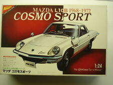 Nichimo Vintage 1:24 Scale Mazda L10B Cosmo Sport Model Kit New Rare Motorisable