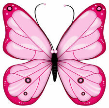 Framed Print - Pink Butterfly (Picture Animal Flying Insect Bug Butterflies Art)