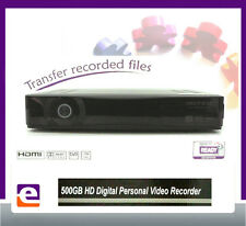 TWIN TUNER 500GB High Definition Digital TV Recorder PVR with USB File Transfer