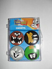 COOP Looney Tunes Bugs Bunny Daffy Duck Taz Martian Magnet  Set-New