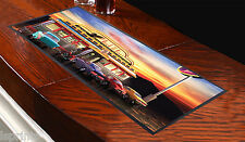 AMERICAN DINER DESIGN BAR RUNNER GREAT GIFT IDEA L&S PRINTS PUBS CLUBS