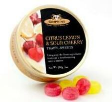 Simpkins Citrus Lemon & Sour Cherry Drops - 200g