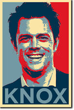 JOHNNY KNOXVILLE ART PHOTO PRINT (OBAMA HOPE) POSTER GIFT JACKASS