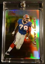 1996 SELECT CERTIFIED MIRROR GOLD BRUCE SMITH #21 HOF 35 MADE  BILLS  (207)
