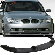 04-07 BMW E60 5 Series 4Dr Sedan H Style PU Front Bumper Lip Pre-Primered