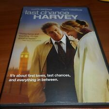 Last Chance Harvey (DVD, 2009) Emma Thompson, Dustin Hoffman Used