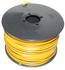 (0,298 €/m) 50m zwillingslitze galon 2x 0,14 mm² amarillo-marrón/Twin cable cable