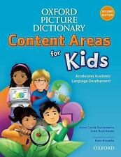 Oxford Picture Dictionary Content Area for Kids English Dictionary by Santamari
