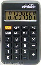 Pocket Calculator Mini Electronic Calculator 8 Digit Battery Powered Calculater
