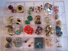 24 PAIRS OF COSTUME JEWELRY - EARRINGS - DISPLAY BOX NOT INCLUDED - LOT 2