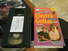 Revised 60-Minute Intro to Electric Guitar for Beginners - Bert Casey (VHS,1998)
