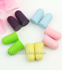 60pcs Soft Foam Earplug Keeper Protector Sleep Snore Noise Reducer Comfortable