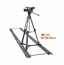 Eimage ED-330 Portable Slider Dolly with max. 50kg payload fit for any tripod