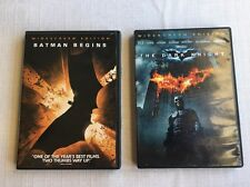 (V) Batman Dark Knight DVDs Batman Begins