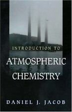 Introduction to Atmospheric Chemistry, Jacob, Daniel, Good Book