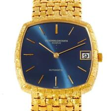 Vacheron Constantin Automatic 18K Yellow Gold Blue Dial Watch 7391