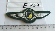 Polizei Abzeichen Württemberg SEK silbern auf grün  (e737-)