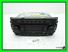 05-07 Dodge Charger Single CD Disc Player - Stereo Radio - AUX Receiver