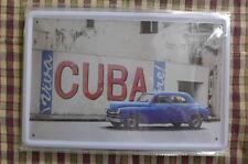 Viva Cuba 2 Tin Metal Sign Painted Poster Comics Book Superhero Wall Decor Art