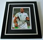 Lawrence Dallaglio SIGNED 10X8 FRAMED Photo Autograph Display England Rugby COA