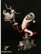 Disney Grand Jester Nightmare Before Christmas Santa Jack Skellington with Zero