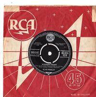 """Elvis Presley - Wooden Heart 7"""" Single 1960"""