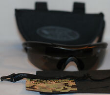 Wiley X Talon 2 Safety / Shooting Black Sunglasses, NIB, Authentic, Made in USA