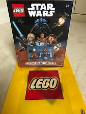 Star Wars Lego Annual 2017 Book With Two Minifigures BNWT