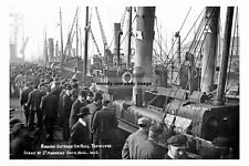 pt2402 - Russian Outrage on Hull Trawlers , Yorkshire - photograph 6x4