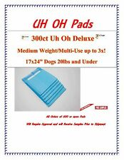 600ct 17X24 3x Deluxe Puppy Piddle Pads Puppy Training Pee Wee Pads FREE SAMPLES