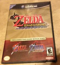 Legend of Zelda WindWaker + Ocarina Master Quest Bonus Disc Complete GameCube