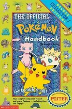 Pokemon: The Official Pokemon Handbook Vol. 1 by Maria S. Barbo (1999, Paperbac…