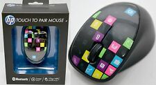NEW HP H4R81AA Touch To Pair Bluetooth Wireless Mouse 1600 CPI 3-Button Laser PC