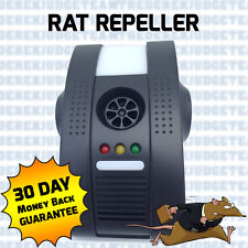 Rat Rodent Repeller & FREE Gift Repellent Ultra Sonic Whole House Plug-In