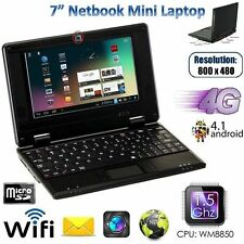 "7 ""Netbook Mini Laptop 4GB WiFi Android notebook pc laptop a buon mercato & LOOK SMART"