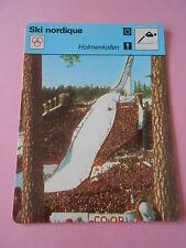 Ski Nordique Holmenkollen 1977 Fiche Card