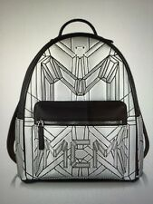 MCM Bionic Small Backpack Silver Orig. $ 1,210.00 AUTHENTIC