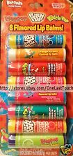 LOTTA LUV* Lip Balms PUSH POP+BABY BOTTLE POP+RING POP 8pc Set PARTY PACK NEW!