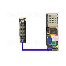NEW LATEST IPHONE 6 4.7 CHARGING FPC CONNECTOR FOR LOGIC BOARD PART
