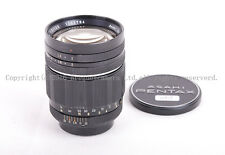 EX Pentax TAKUMAR 100mm f/2 M42 screw mount telephoto lens
