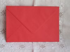 Red envelopes 160mm x 235mm 100gsm for greeting cards x25
