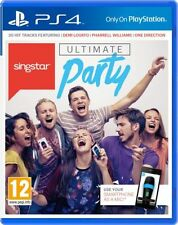 Singstar PS4 Ultimate Party - Brand NEW - UK Stock - 1st Class Delivery