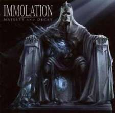 IMMOLATION MAJESTY AND DECAY CD NEW
