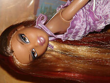 "Bratz MAGIC Long HAIR YASMIN AA Doll Re-Body 14"" BJD Articulated"
